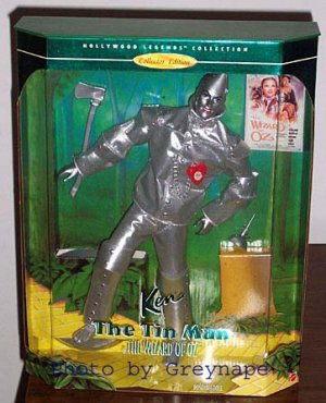 KEN as TIN MAN  Wizard of Oz NRFB Collector Edition  Hollywood Legends! 1996