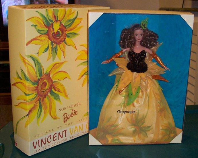 Sunflower Barbie Doll Artist Series NRFB