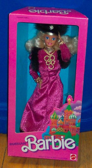 DOTW Russian Barbie Dolls of the World 1988 !! NRFB 1st edition
