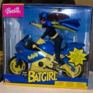 Barbie as Batgirl on Motorcycle NRFB Collector 2003