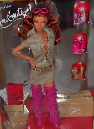 Dolly Forever Barbie doll Christian Louboutin 2nd NRFB OBO