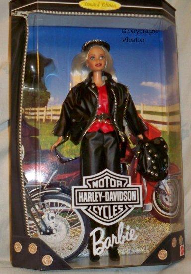 ** Harley Davidson  Barbie #1  NRFB 1996 Limited Edition Blonde Perfect!!!