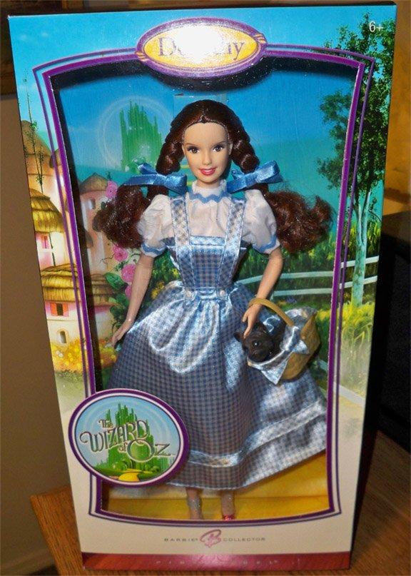 The Wizard of Oz  Dorothy Barbie Doll    MNRFB     NRFB