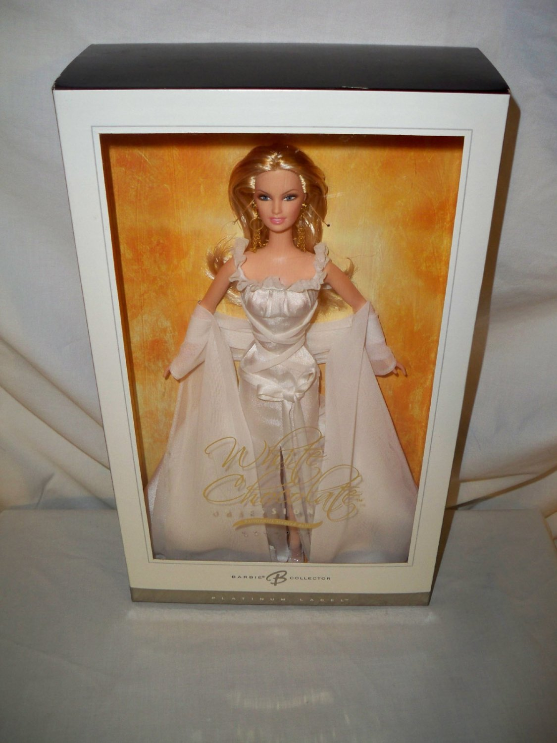 PLATINUM White Chocolate Obsession Barbie Doll  NRFB