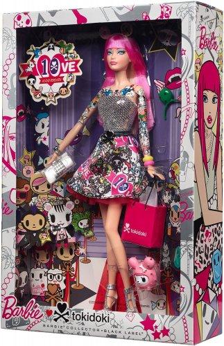 2015 Black Label Barbie Collector 10th Anniversary Tokidoki PINK HAIR  Barbie doll NRFB CMV57
