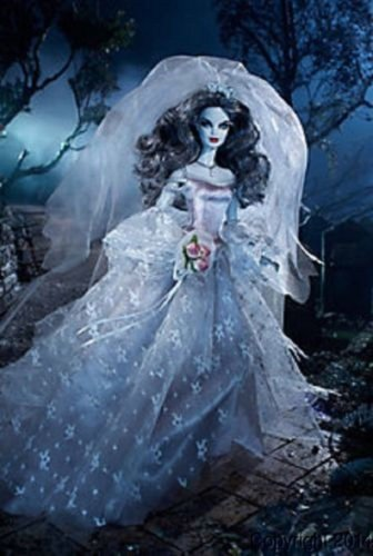 Haunted Beauty Zombie Bride Barbie Doll NRFB CHX12 2015 Gold Label