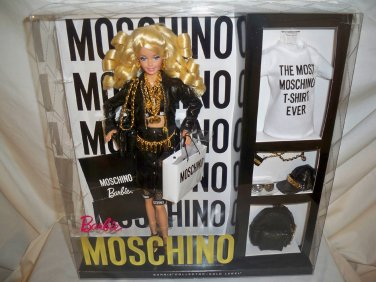 2015 Moschino Barbie Doll Caucasian NRFB SOLD OUT! Code: CHX10