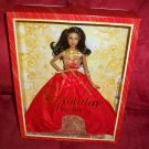 2014 Holiday Barbie Doll African American NRFB AA Mattel