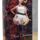 Shoe Obsession Barbie Doll Pop Culture NRFB Pink Label Mattel