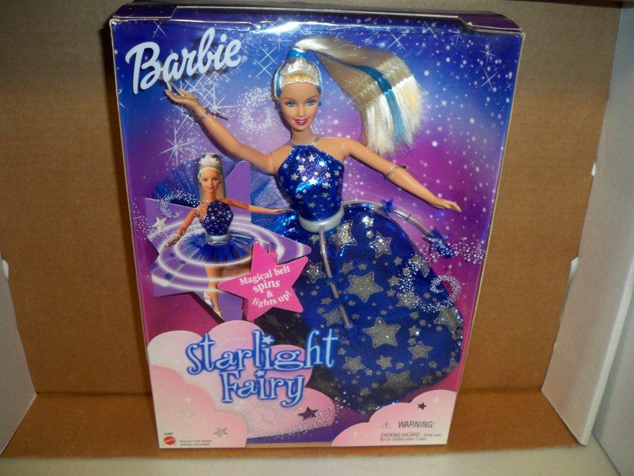 BARBIE STARLIGHT FAIRY DOLL 2001 NRFB Mattel