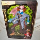 Alice in Wonderland Mad Hatter Barbie Doll Johnny Depp Mattel NRFB