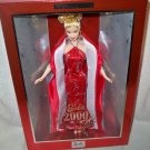 Barbie 2000 Doll Dressed in RED and SILVER and GREAT BOX!! NRFB #27409