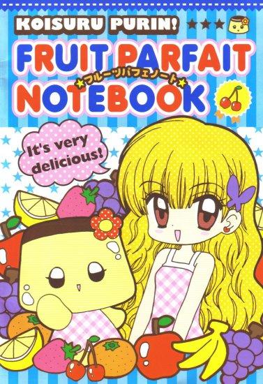 Koisuru Purin Fruit Partfait Notebook