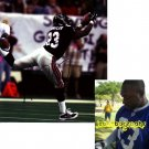 ALGE CRUMPLER TITANS SIGNED FALCONS 8X10 PHOTO PIC PROOF SIGNING