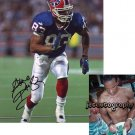 ANDRE REED SIGNED BILLS 8X10 PHOTO PIC PROOF SIGNING