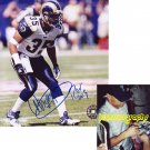 ANEAS WILLIAMS SIGNED RAMS 8X10 PHOTO PIC PROOF SIGNING