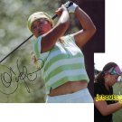 CHRISTINA KIM SIGNED LPGA 8X10 PHOTO PIC PROOF SIGNING