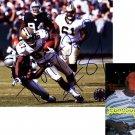 JOE HORN FALCONS SIGNED SAINTS 8X10 PHOTO PIC PROOF SIGNING