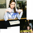 JENNA FISCHER SIGNED THE OFFICE 8X10 PHOTO PIC PROOF SIGNING