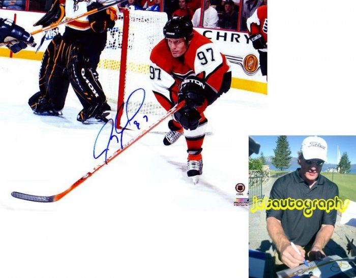 JEREMY ROENICK SHARKS SIGNED FLYERS 8X10 PHOTO PIC PROOF SIGNING