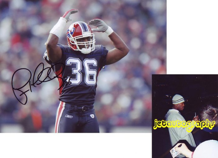 LAWYER MILLOY FALCONS SIGNED BILLS 8X10 PHOTO PIC PROOF SIGNING