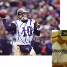 MARC BULGER SIGNED RAMS 8X10 PHOTO PIC PROOF SIGNING