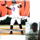 TROY SMITH SIGNED RAVENS 8X10 PHOTO PIC PROOF SIGNING