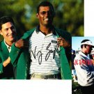 VIJAY SINGH SIGNED MASTERS 8X10 PHOTO PIC PROOF SIGNING