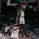 RASHARD LEWIS SIGNED SONICS 16X20 PHOTO PIC PROOF SIGNING MAGIC