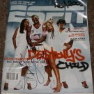 STEVE FRANCIS SIGNED ROCKETS ESPN MAGAZINE PIC PROOF SIGNING