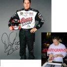 DAVID STREMME SIGNED NASCAR 8X10 PHOTO PIC PROOF SIGNING