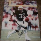 MARCUS ALLEN SIGNED RAIDERS 11X14 PHOTO PIC PROOF SIGNING