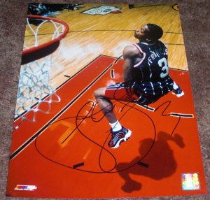STEVE FRANCIS SIGNED ROCKETS 11X14 PHOTO PIC PROOF SIGNING