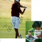 LPGA MI-HYUN KIM SIGNED ACTION 8X10 PHOTO #1 PIC PROOF