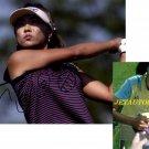 LPGA MI-HYUN KIM SIGNED ACTION 8X10 PHOTO #2 PIC PROOF