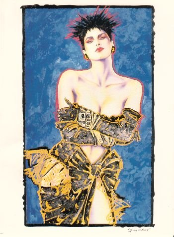 Olivia de Berardinis O Card Co. Pin-up Notecard with Envelope