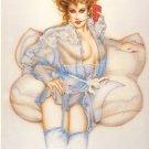 "Olivia de Berardinis O Card ""Antherium"" Pin-up Notecard with Envelope"