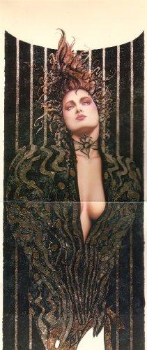 "Olivia de Berardinis O Card ""Night Stalker"" Pin-up Notecard with Envelope"