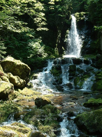 Fuller Falls, Fundy National Park, New Brunswick, CA 03