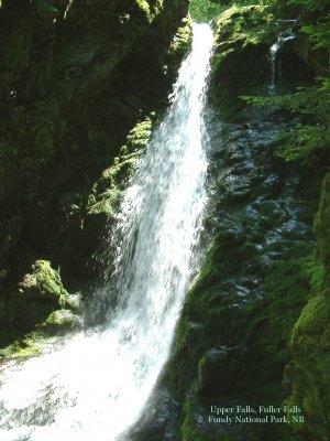 Fuller Falls, Fundy National Park, New Brunswick, CA 04