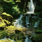 Fuller Falls, Fundy National Park, New Brunswick, CA 05
