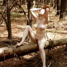 """Beautiful Hot Redhead """"lost in the forrest naked"""