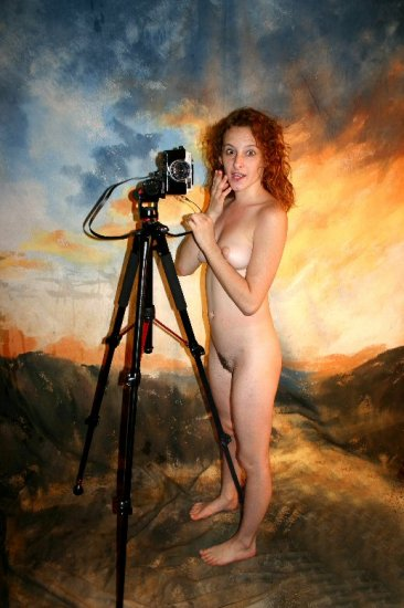 Hot naked redhead Did I just take your photo?