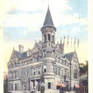 2 Postcards Fort Wayne Indiana IN Post Office 1919 and Interior Court House 1915