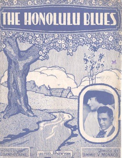 The Honolulu Blues 1916 Sheet Music