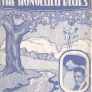 The Honolulu Blues 1916 Sheet Music