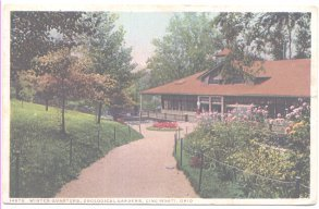Winter Quarters Cincinnati Ohio Zoological Garden s 1922 Postcard