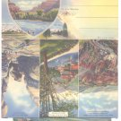 Heart of Colorado Glenwood Sprgs Grand Junction Pikes Peak Souvenir Folders