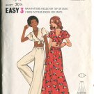 Butterick Jr Teen Pattern 3144 Size 9/10 Midriff Top Pants Skirt