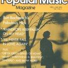 The  Best of Popular Music Magazine Dec. Jan 1973